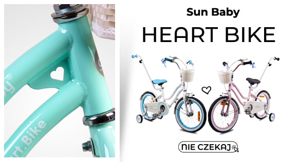 Rowerek Heart Bike Sun Baby